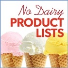 Expansive Non-Dairy Product Lists