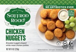 Saffron Road Chicken Nuggets and Tenders Reviews and Info - dairy-free, gluten-free, egg-free, nut-free, and soy-free.
