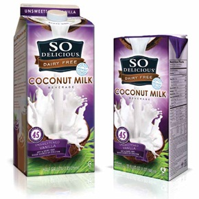 So Delicious Dairy Free Vanilla Unsweetened Coconut Milk Beverage