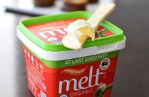 Melt Organic Buttery Spread (All Dairy-Free, Soy-Free, Natural & Non-GMO). Three Flavors: Rich & Creamy Original, Honey, and Chocolate.