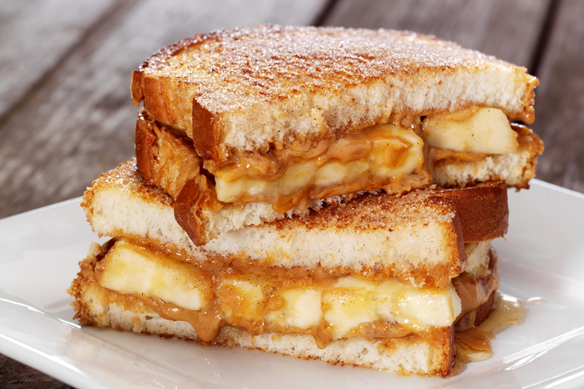 The Spiced Peanut Butter, Banana and Honey Sandwich Recipe (2 delicious recipes in one! Dairy-free, options for gluten-free & nut-free)
