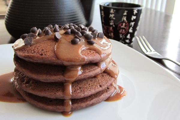 Peanut Butter Chocolate Pancakes Recipe (Gluten-Free & Vegan Options)