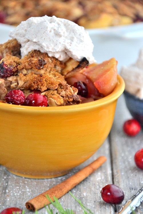 Cranberry Apple Gluten-Free Cobbler Recipe (also Vegan)