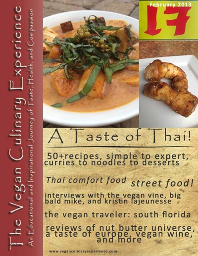 Vegan Culinary Experience - Thai February 2013