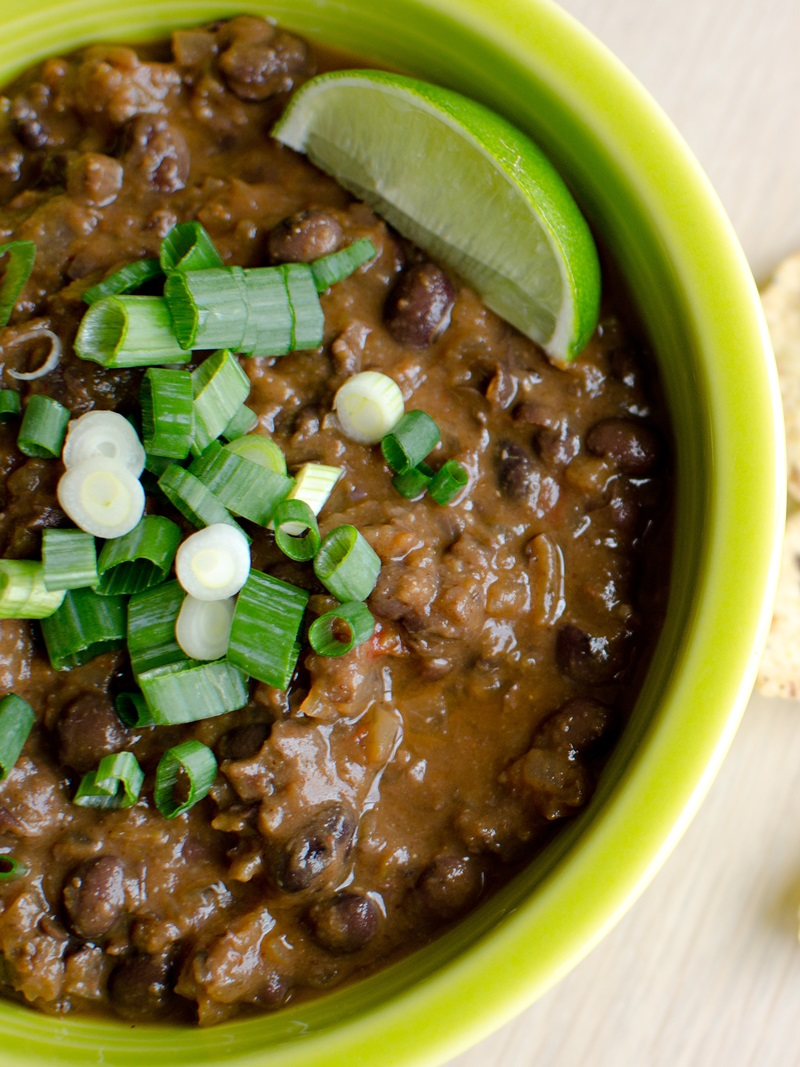 Cuban Black Bean Soup Recipe (Gluten-Free / Vegan) - Go Dairy Free