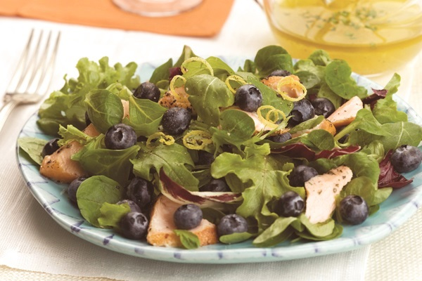 Fresh Salmon Summer Salad with Lemon Vinaigrette Recipe - Dairy-Free, Gluten-Free