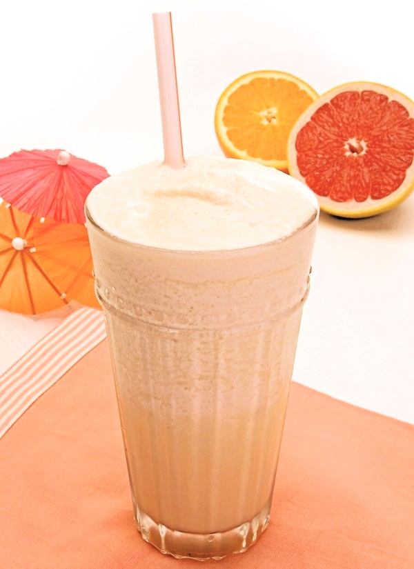 Healthy Vegan Citrus Shake Recipe
