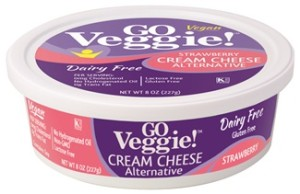 Go Veggie! Strawberry Cream Cheese Alternative - Dairy-Free, Vegan