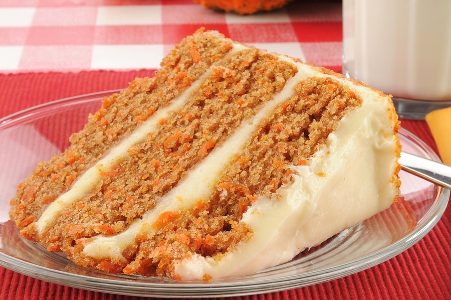 Grandma's Best Carrot Cake - still one of our most popular dairy-free recipes! A staple.