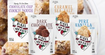Hail Merry Bites Reviews and Info - Little raw, vegan, dairy-free, gluten-free macaroons in healthy, sweet flavors. Pictured: All
