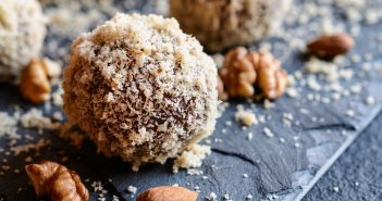 Vegan Chocolate Almond Truffles Recipe (by a Cooking Cardiologist!)