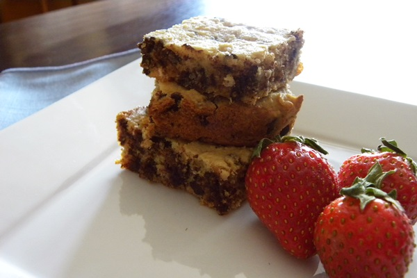 Quinoa Chocolate Chip Brownie