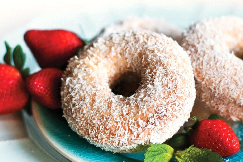 Coconut Vanilla Gluten-Free Donuts Recipe - Unbelievably vegan, too!