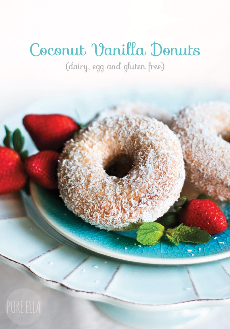 Coconut Vanilla Gluten-Free Donuts Recipe - Unbelievably vegan, too!