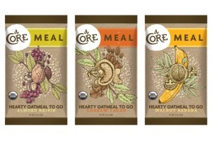 Core Meal Bars - Hearty Oatmeal to Go (certified organic, gluten-free, vegan and dairy-free)