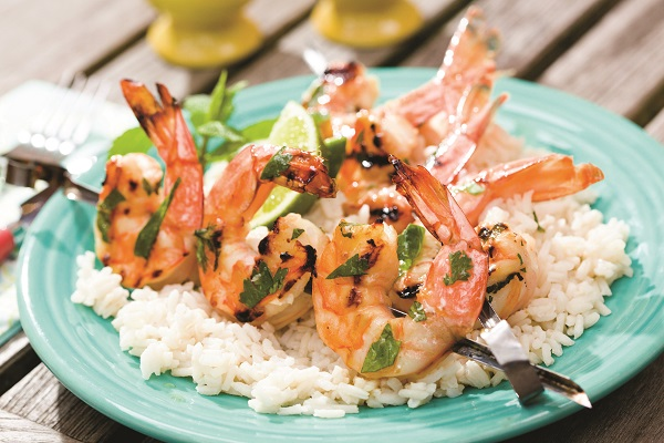Grilled Citrus Shrimp