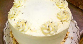 Vegan Lavender Almond Cake Recipe