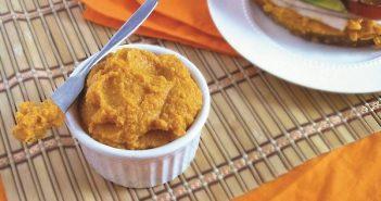 Smokey Carrot Hummus Dip