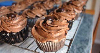 Vegan Coffee Cupcakes Recipe with Espresso Icing