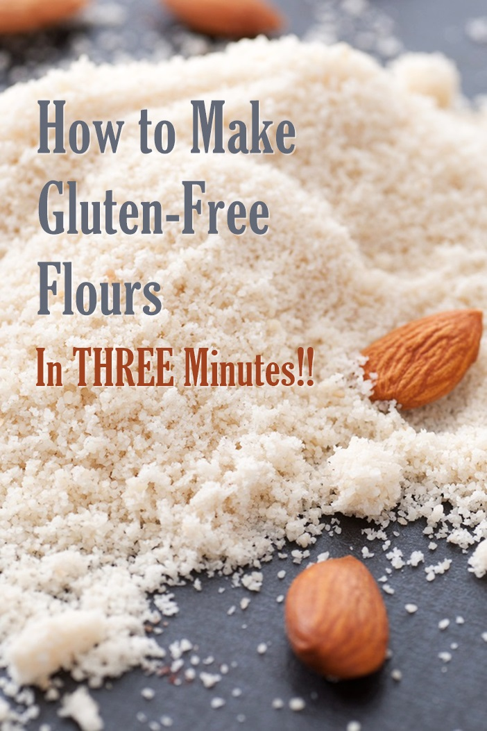 How to Make Gluten-Free Flours in 3 Minutes or Less!