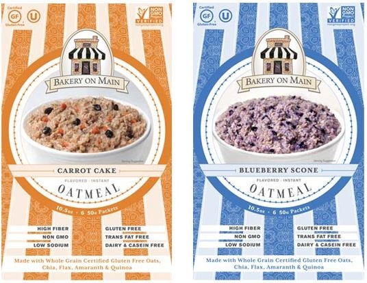 New Dairy-Free Products: Bakery on Main Instant Oatmeal