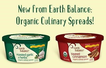 New Dairy-Free Products: Earth Balance Organic Culinary Spreads