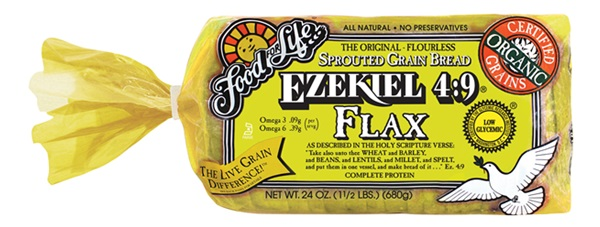 New Dairy-Free Products: Ezekiel 4:9 Flax Sprouted Whole Grain Bread