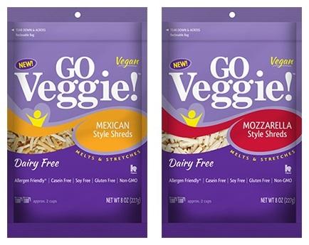 New Dairy-Free Products: Go Veggie! Vegan Cheese Shreds