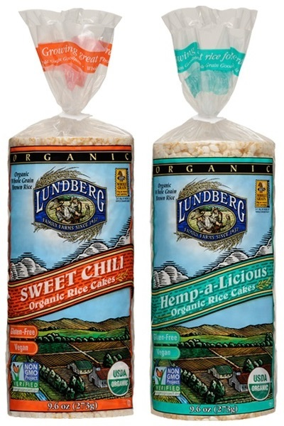 New Dairy-Free Products: Lundberg Organic Rice Cakes