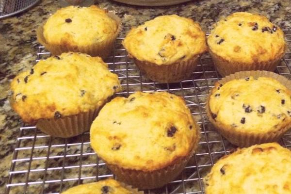 Vegan Honey Orange Currant Muffins Recipe