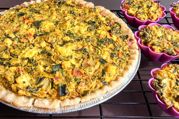Vegan Quiche Recipe + More Nutritional Yeast Recipes