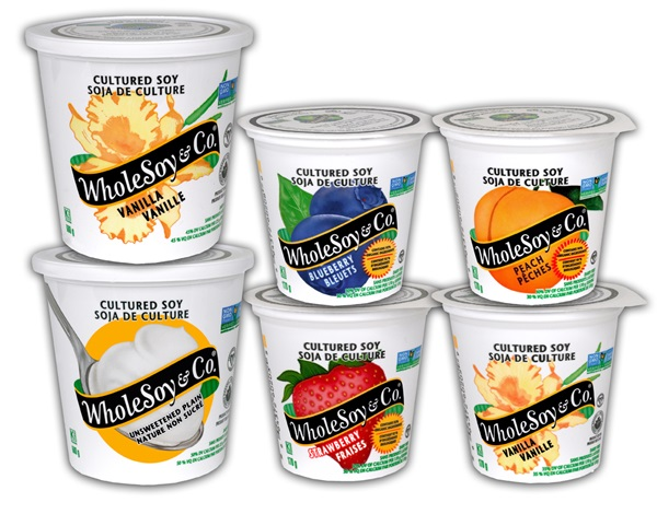 WholeSoy & Co. Vegan Yoghurt in Canada