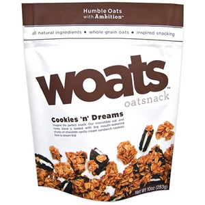 Woats Oatsnack Review (dairy-free Cookies 'n' Dreams)