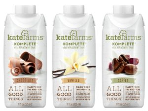 Kate Farms Komplete Ultimate Dairy-Free Meal Replacement Shakes