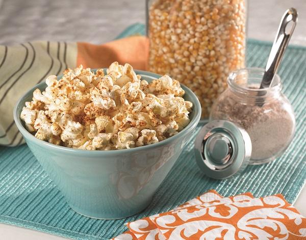 Vegan Sweet and Spicy Popcorn