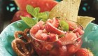 Strawberry Mint Watermelon Salsa