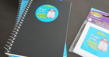 Allermates Dairy-Free Sticker