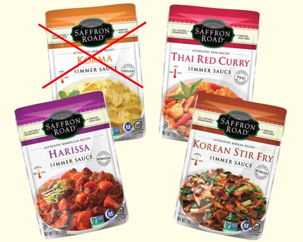 New Dairy-Free Products: Saffron Road Simmer Sauces
