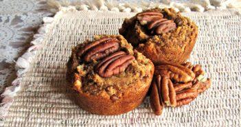 Pecan Pie Muffins Recipe (Vegan, Grain-Free, Gluten-Free and Dairy-Free)