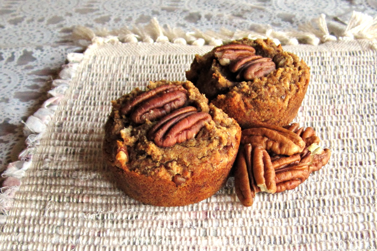 Pecan Pie Muffins Recipe (Vegan, Grain-Free, Gluten-Free and Dairy-Free)