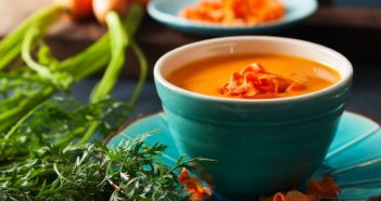 Carrot Red Pepper Soup Recipe - Vegan, Plant-Based, Paleo, and Oh-so Healthy!