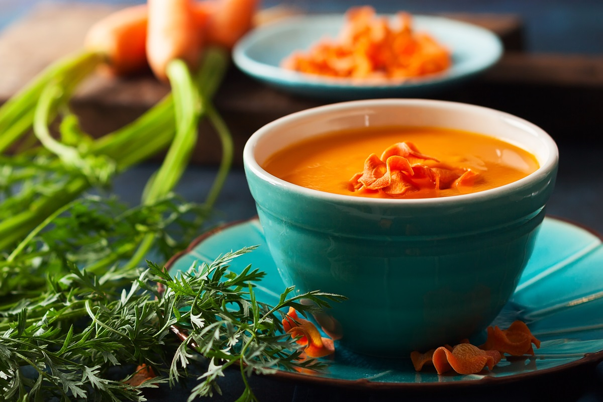 Carrot Red Pepper Soup Recipe A Quick Plant Based Blend