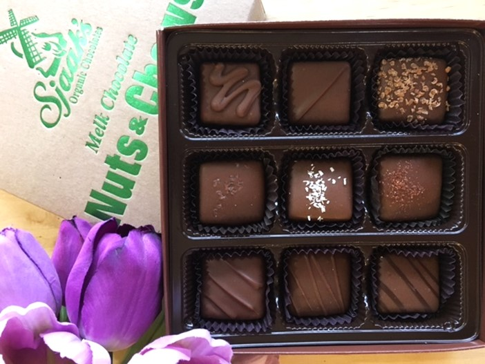 Sjaak's Boxed Vegan Chocolates Reviews and Info - dairy-free