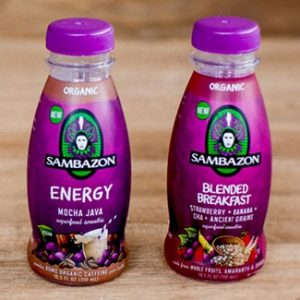Sambazon Superfood Smoothies - Dairy-Free & Vegan