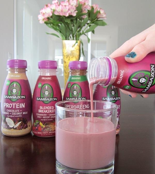 Sambazon Superfood Smoothies - Dairy-Free & Vegan
