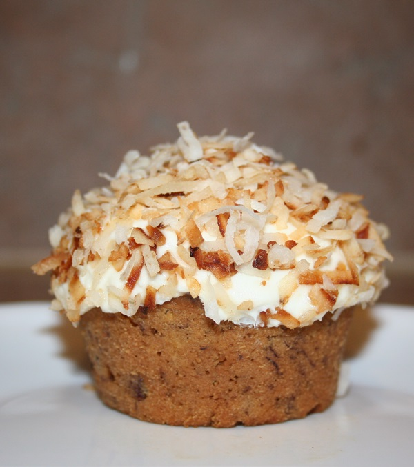 Vegan Banana Coconut Cupcakes Recipe
