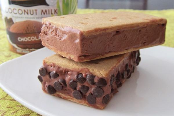 Dairy-Free Gluten-Free Ice Cream Sandwiches - Go Dairy Free