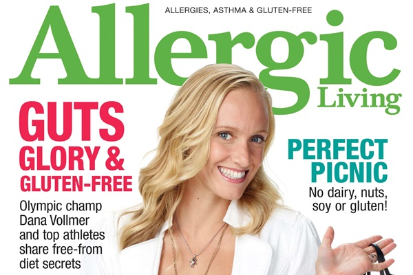 Allergic Living Summer 2013 Cover Feature