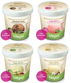 Beyond IceCream - Dairy-Free & Vegan Frozen Dessert from GoBeyond Foods (formerly Omega Creamery)