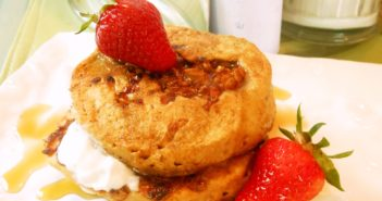 Vegan Granola Pancakes Recipe